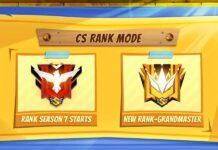 Garena adds Grandmaster in Free Fire clash squad mode.