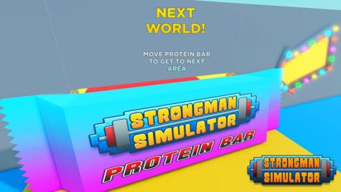 Roblox Strongman Simulator codes