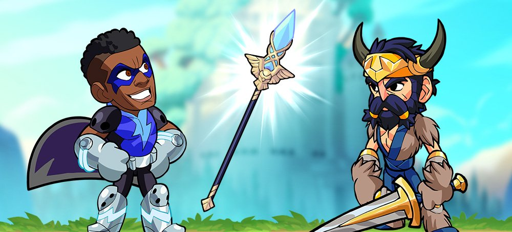 Best spear combos in Brawlhalla