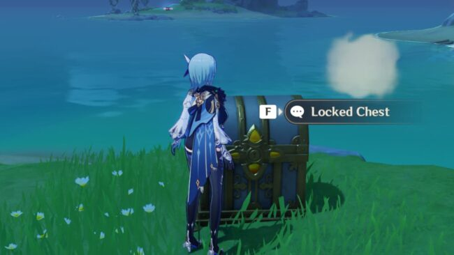Correct Code to open chest