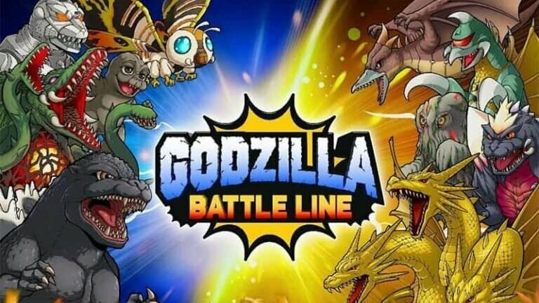Godzilla Battle Line Cover