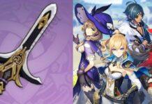 Kitain Cross Spear Inazuma Weapon
