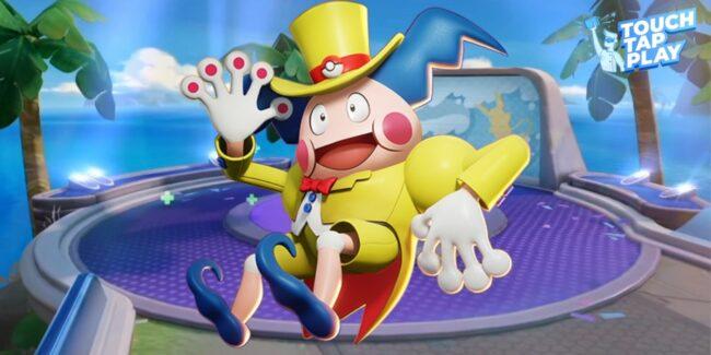 Mr Mime in Pokemon Unite