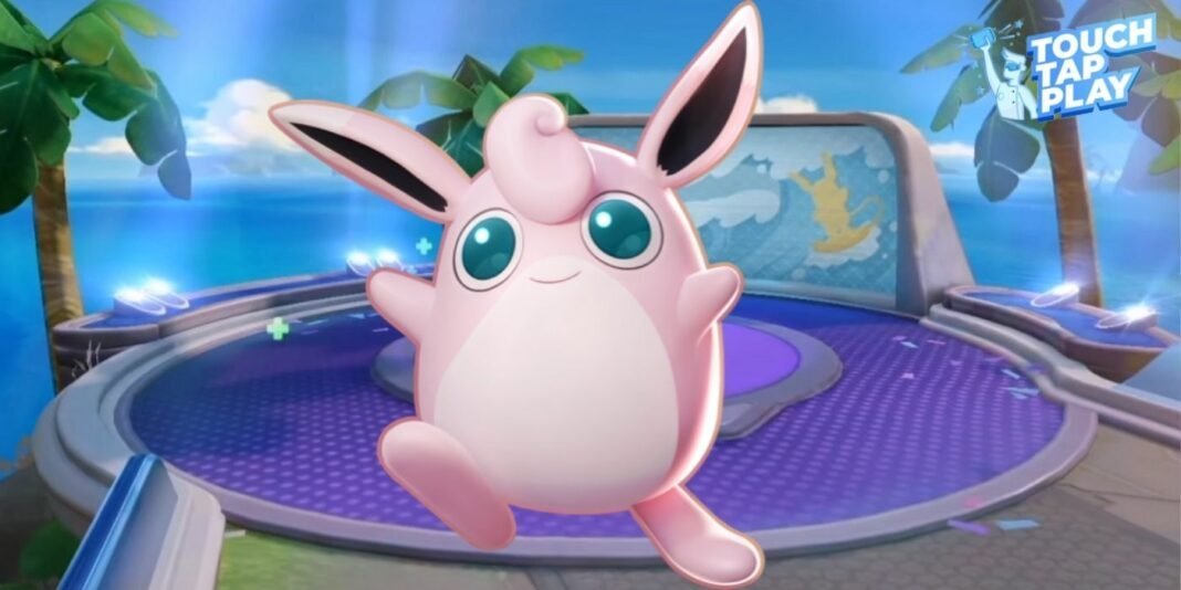 WigglyTuff in Pokemon Unite