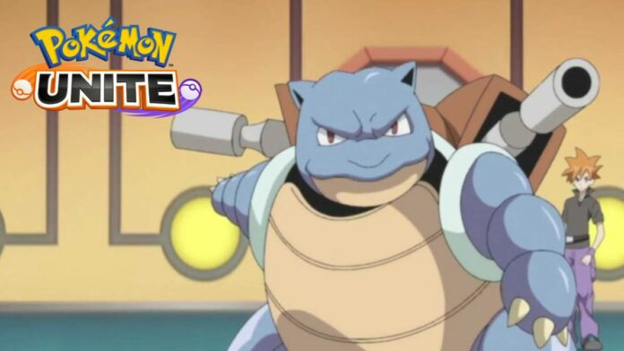 Blastoise in Pokemon Unite