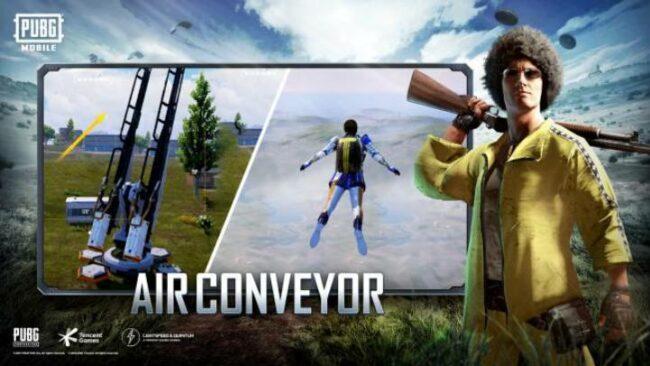 Air Conveyer Launcher PUBG Mobile