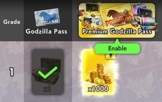 Godzilla Battle Line Pass