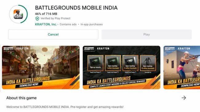 Battlegrounds Mobile India: APK + OBB