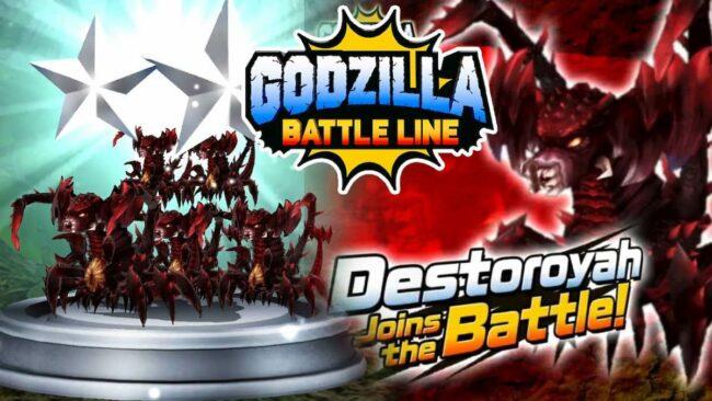 Destoroyah joins the list of monsters in Godzilla Battle Line