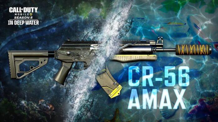 COD Mobile CR 56 AMAX Assault Rifle