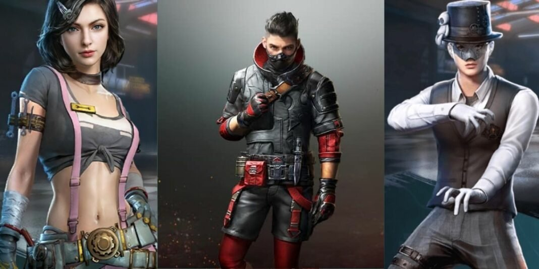PUBG Mobile Characters