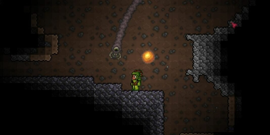 How to Make Worm Food in Terraria