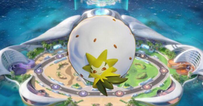 eldegoss pokemon unite build