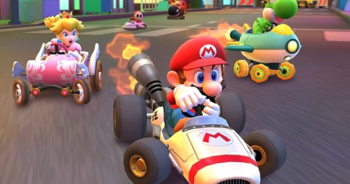 Mario Kart Tour item list