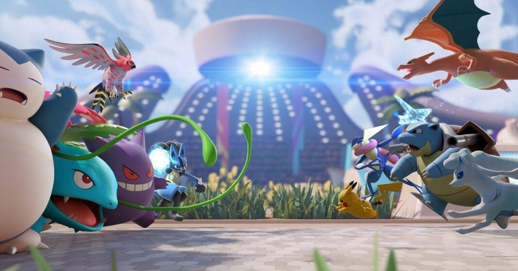 pokemon unite cross play
