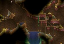 Shark Tooth Necklace in Terraria