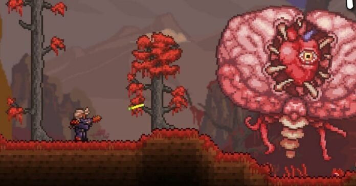 Terraria: How to Summon and Defeat the Brain of Cthulhu