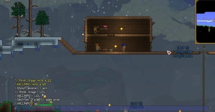 How to Open a Chat in Terraria