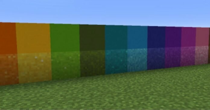 How to Dye Concrete in Minecraft