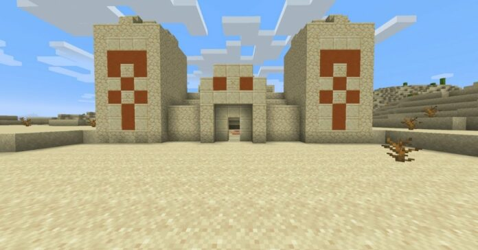How to Find a Desert Temple in Minecraft