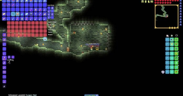 How to Get And Use a Golden Key in Terraria