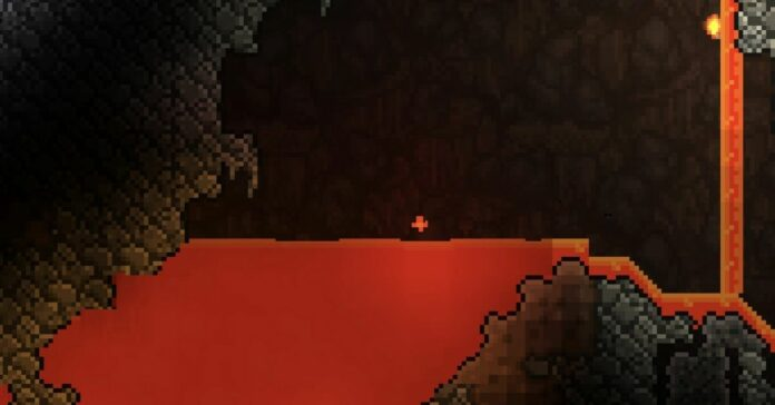 How to Fish in Lava in Terraria