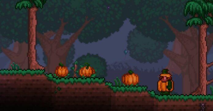 How to Get Pumpkins in Terraria
