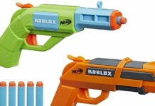Roblox Nerf Guns List
