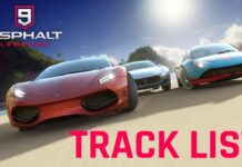 Asphalt 9: Legends cars