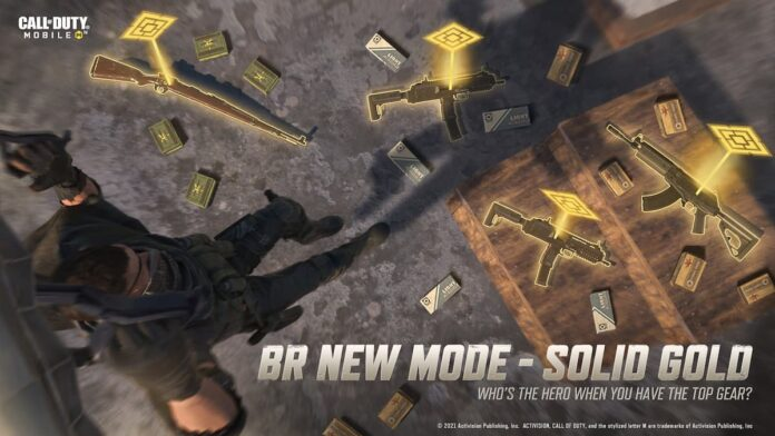 COD Mobile Solid Gold event