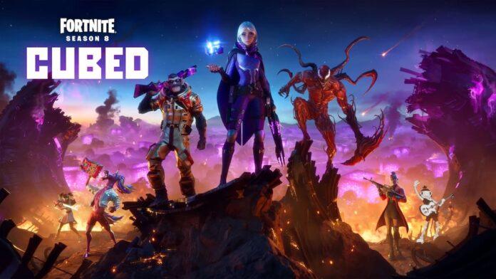 Fortnite Season 8 Cubed update