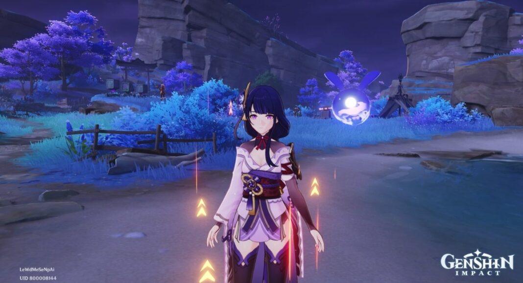 Genshin Impact Relics of Seirai World Quest