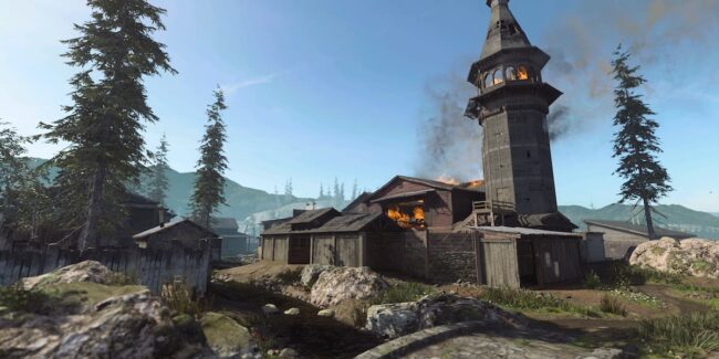 New COD Mobile Hovec Sawmill Map