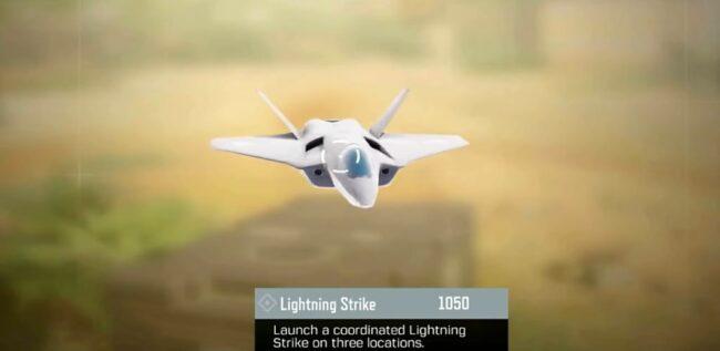 COD Mobile Lightning Strike scorestreak