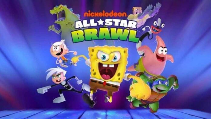 Nickelodeon All-Star Brawl poster