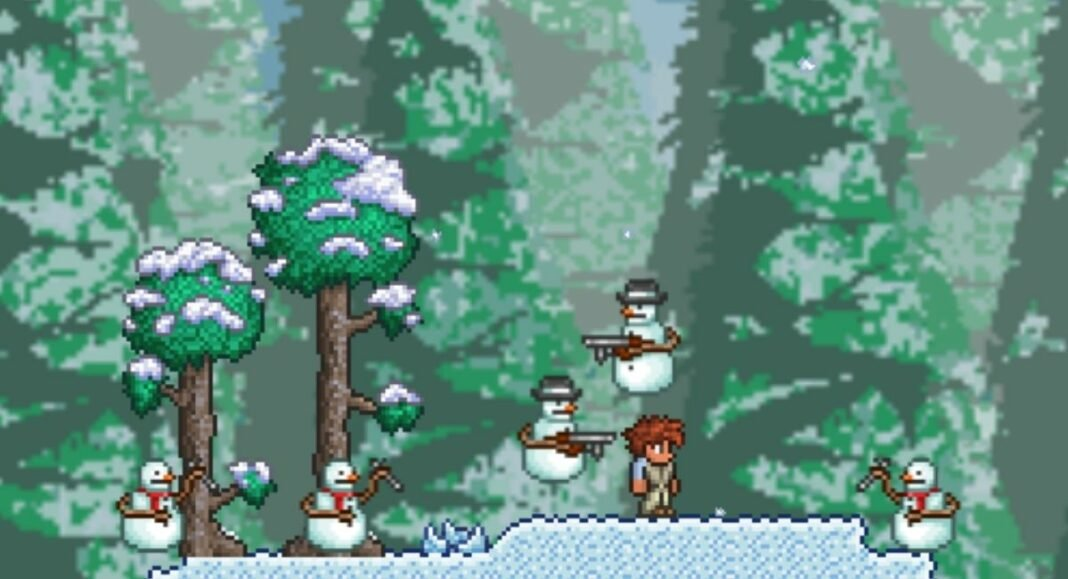 Terraria: How to Spawn and Defeat the Frost Legion