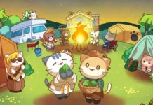 Cat Forest Healing Camp poster