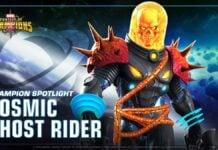 Cosmic Ghost Rider look