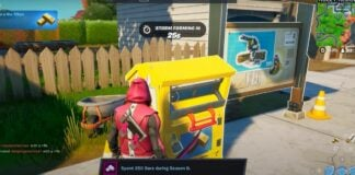 How to Make Donations to the War Effort Donations Box for J.b. Chimpanski in Fortnite