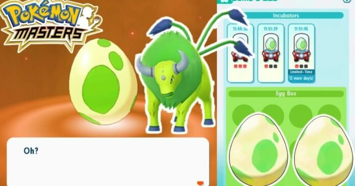 Pokemon Masters EX Egg Guide: How to Get and Hatch Eggs