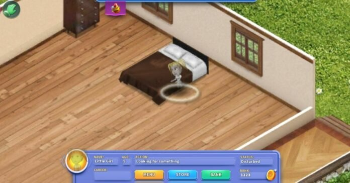 How to Get Rid of Ghost Girl in Virtual Families 3