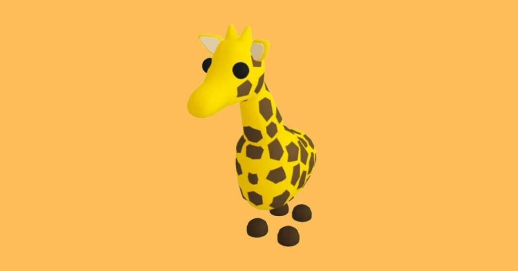 How to Get a Free Giraffe in Roblox Adopt Me in 2021