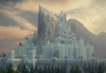 Minecraft Players Recreate Middle Earth in Stunning Minecraft Middle Earth Server