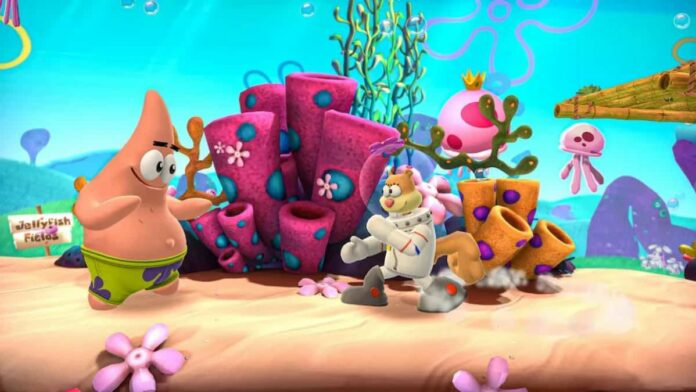 Nickelodeon All-Star Brawl related scene
