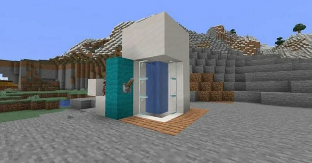 How to Build a Shower in Minecraft