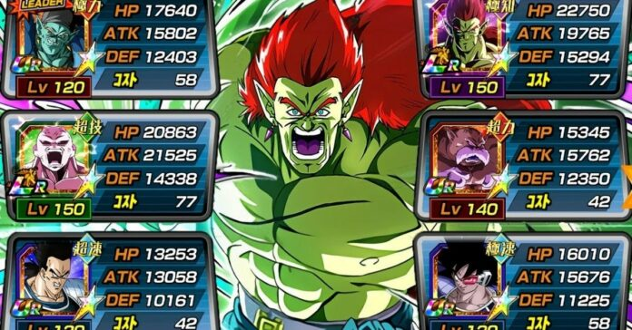 Dragon Ball Z: Dokkan Battle - All Characters in the Space-Traveling Warriors Category