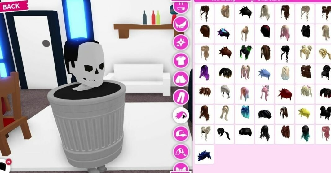How to Become a Trash Can in Adopt Me Roblox