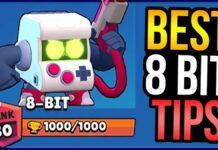 Best 8 Bit Tips in b Brawl Stars