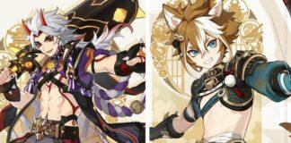 Genshin Impact 2.3 Characters
