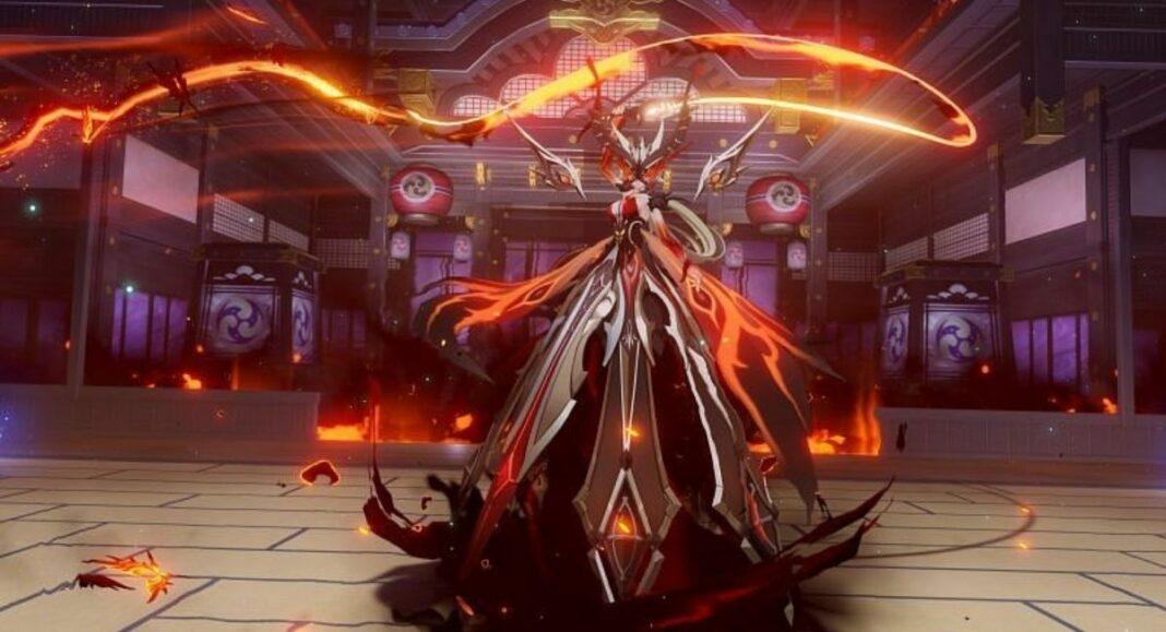 Genshin Impact Ashen Heart